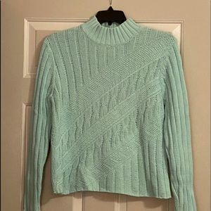 IZOD Mint Knitted Sweater Vintage